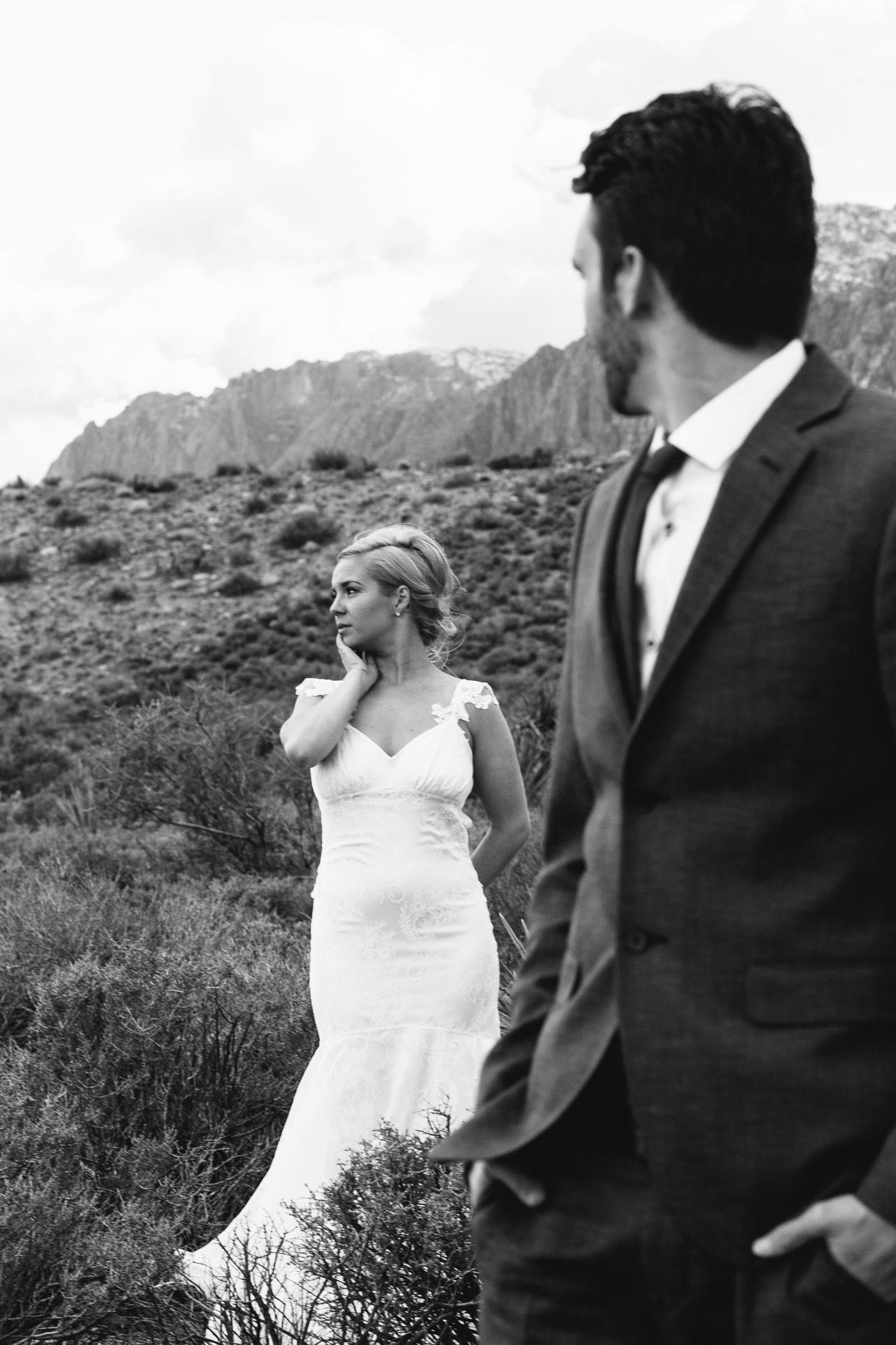 Red Rock Canyon Las Vegas Destination Wedding Photography