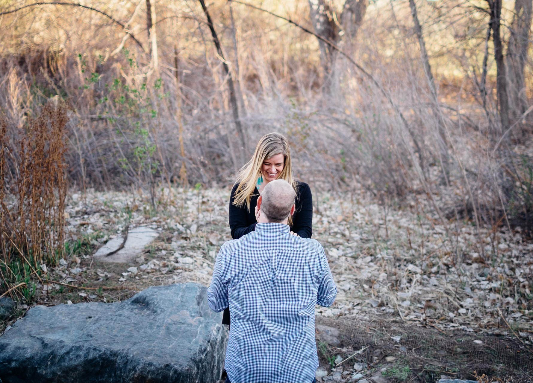 Mark and Alayna Engagement Session at Fly'n B Park